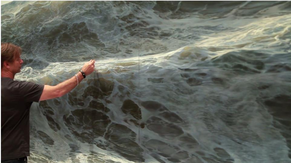 Open Water Paintings By Ran Ortner Panthalassa Panthalassa