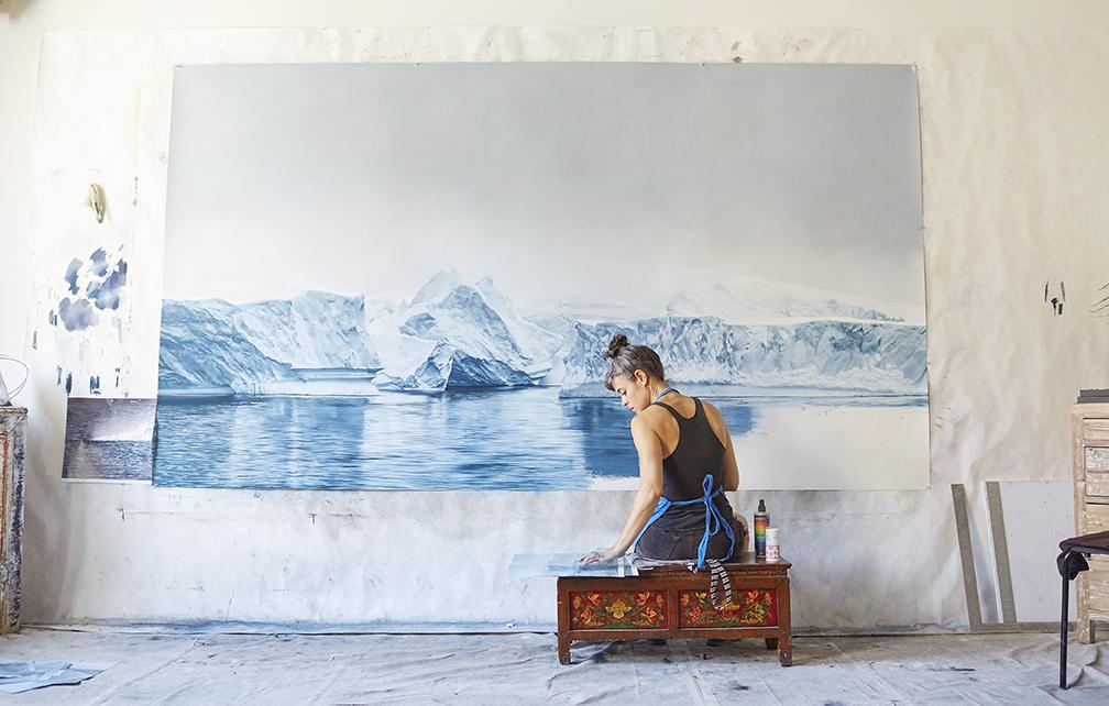 Zaria Forman The Portraits Of Climate Change Panthalassa