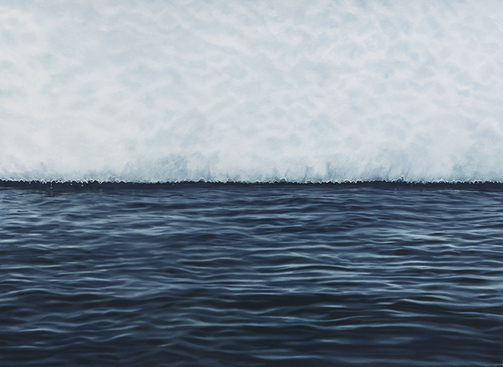 Lemarie Channel Antarica, 44x60, 2015