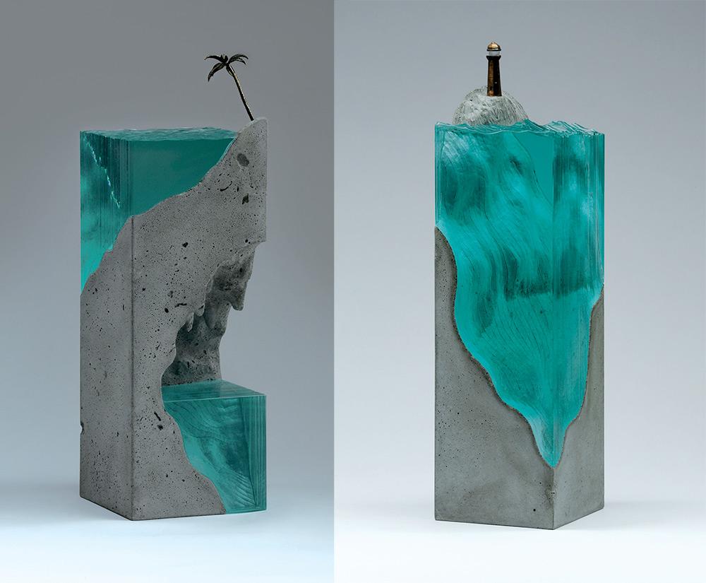ben young translucent glass sculptures panthalassa panthalassa. Black Bedroom Furniture Sets. Home Design Ideas